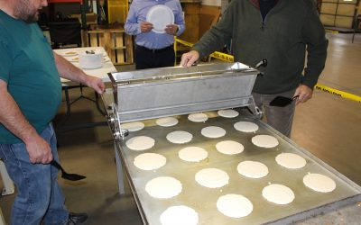 Efficient Pancake Griddle Concept a Hit with Staff
